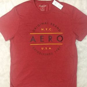 NWT 4X Aeropostale T-Shirt Red AERO NYC    BP45